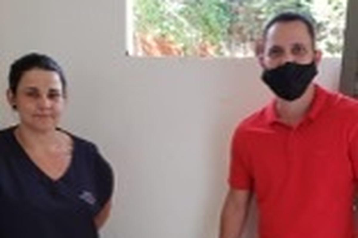 Voluntários Bradesco contra a fome - Terra Roxa - 2021
