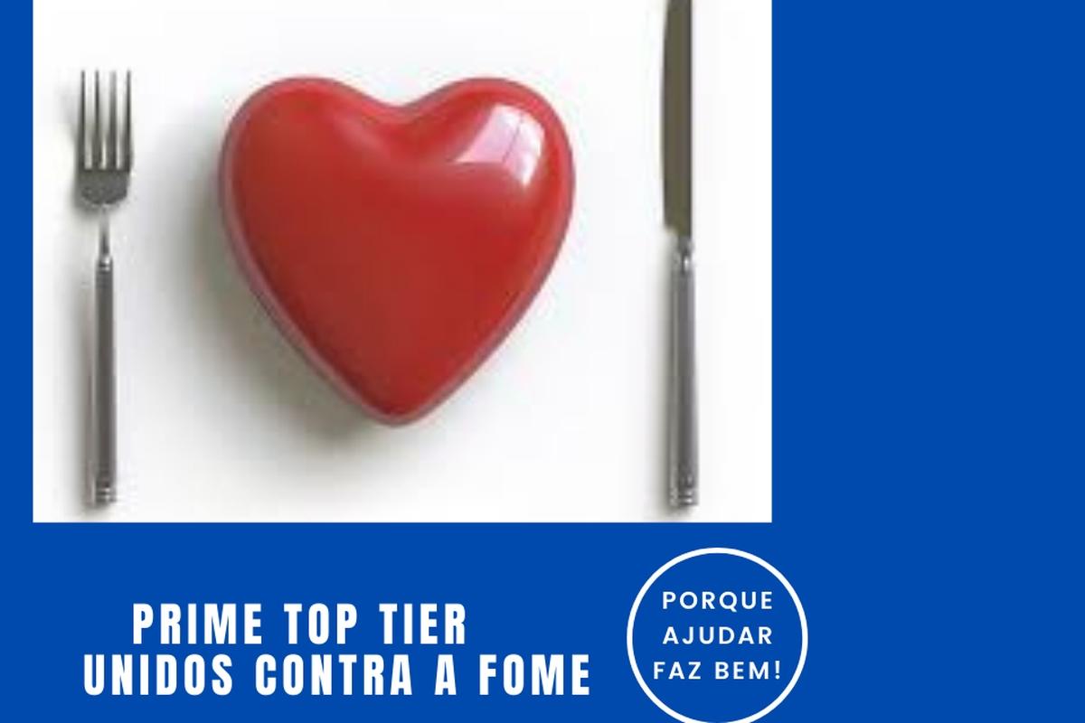 TOP TIER UNIDOS CONTRA A FOME - 2021