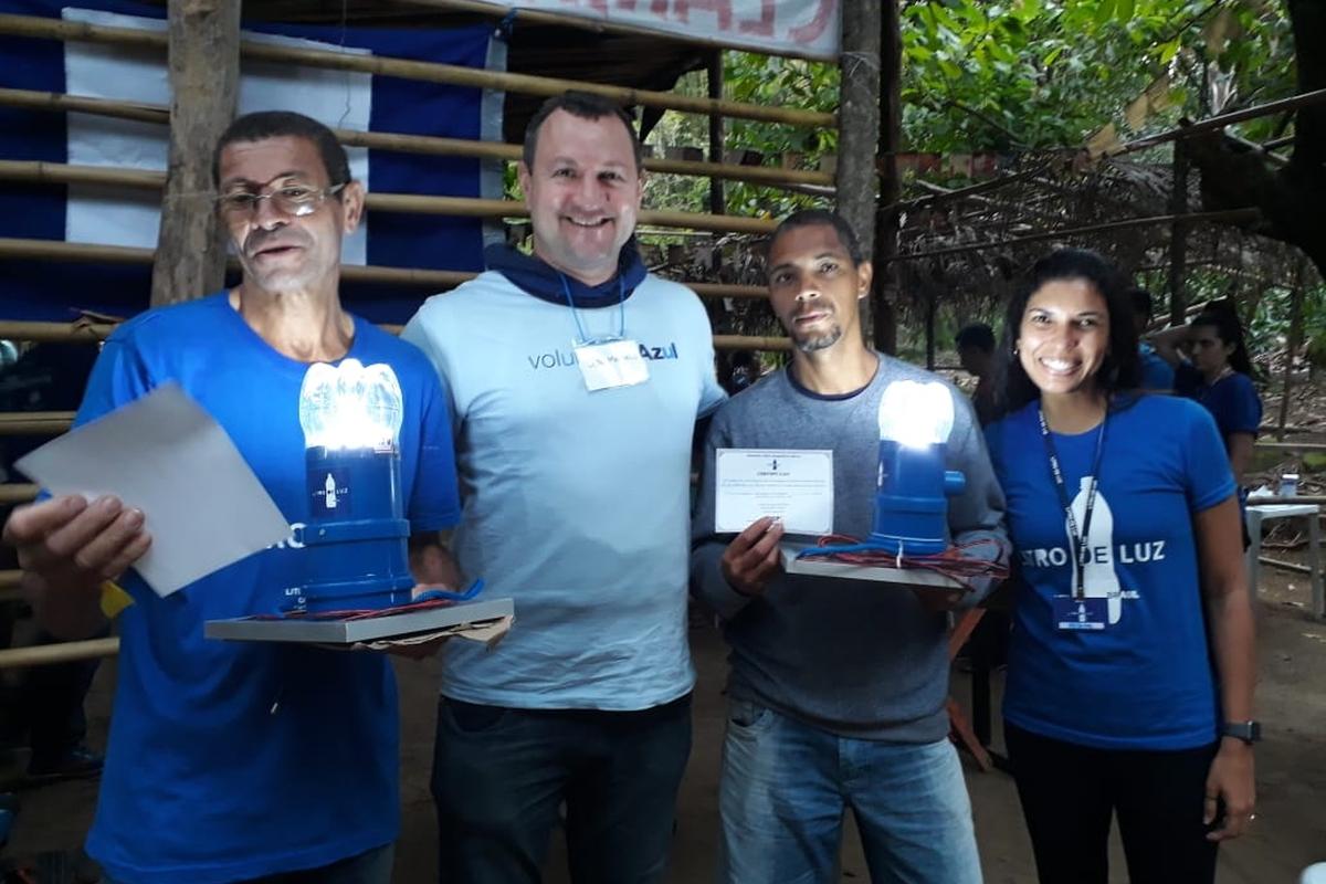 Litro de Luz - 08/12 Comunidade Vila Esperança (SP)