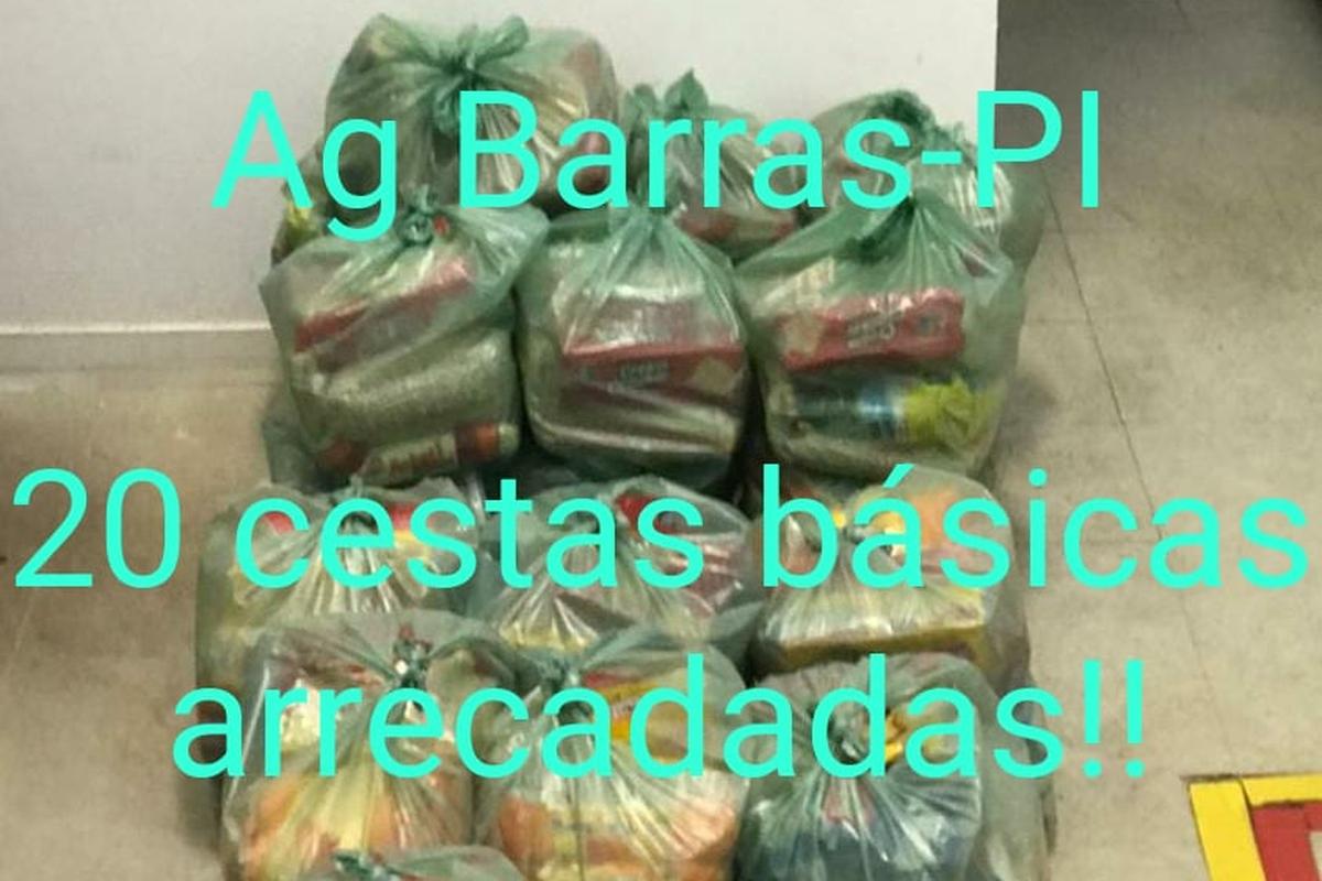 Voluntários Bradesco contra a fome - Barras/PI - 2021