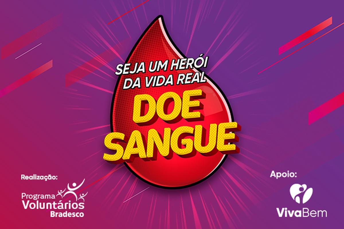 Doação de Sangue na Cidade de Deus - 2019 (12h)
