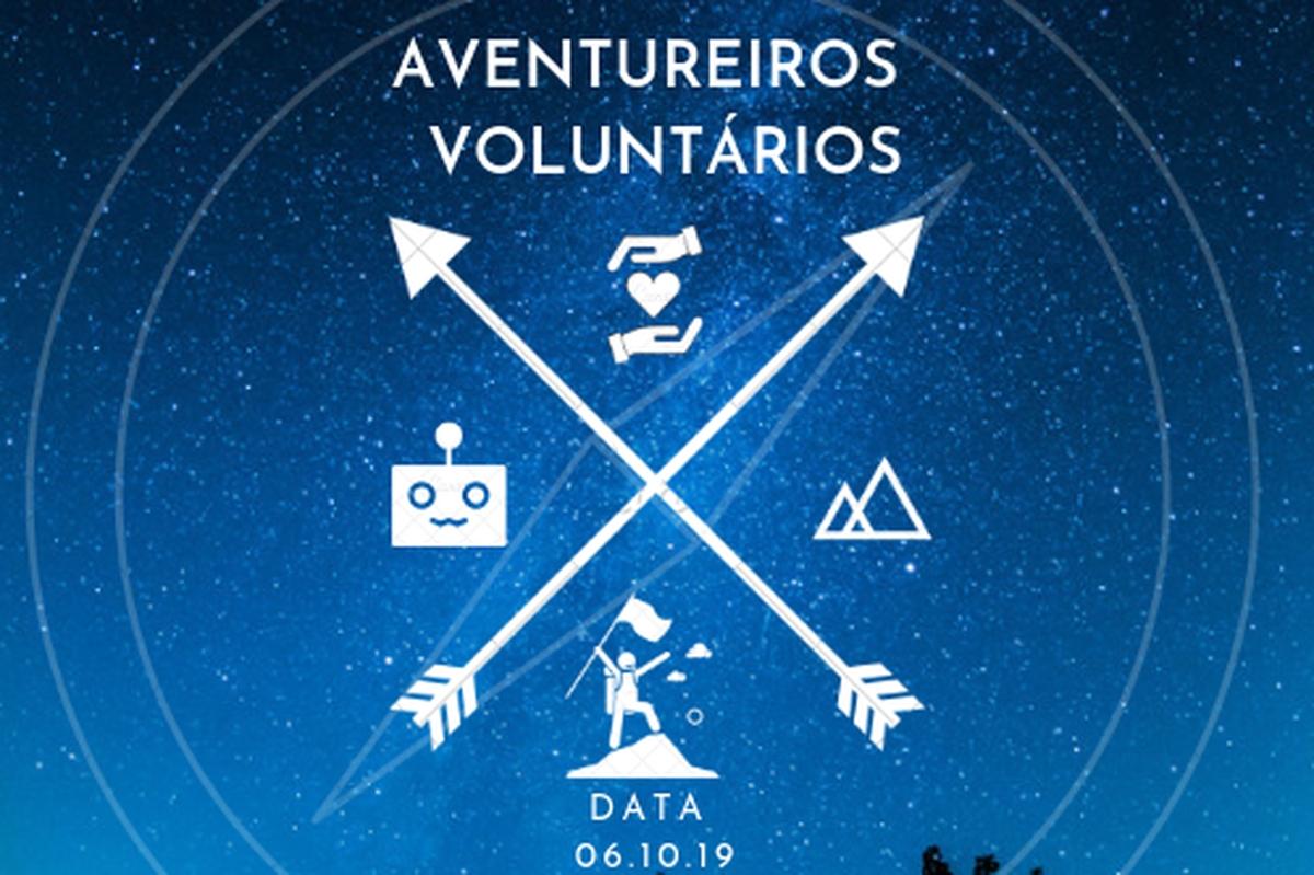 #AventureirosVoluntários