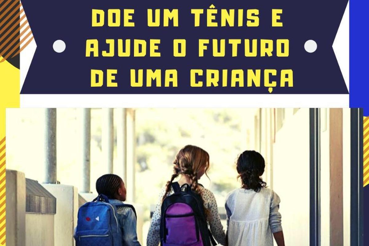 Doe um tênis e ajude o futuro de uma criança