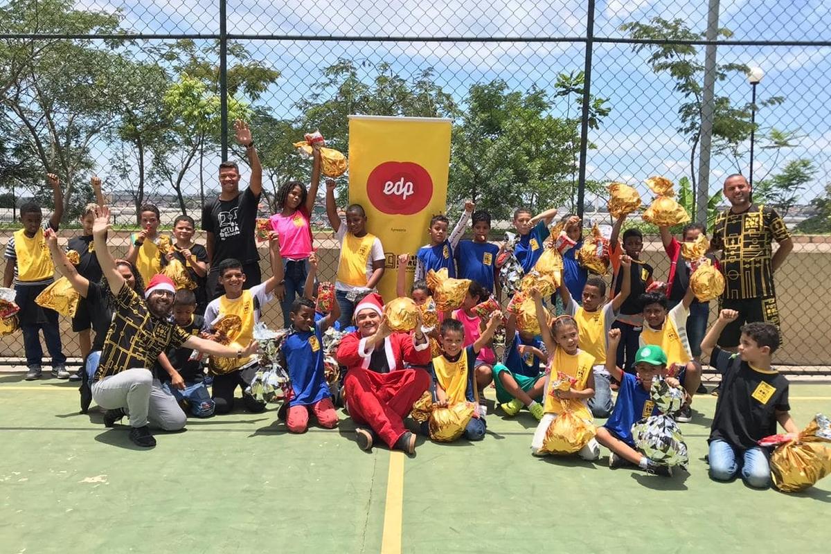 Instituto Futebol de Rua - Ação de Natal