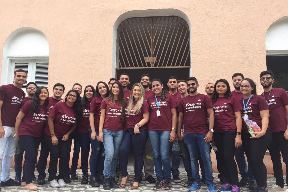 Integração Estagiários Pecém- Lar Torres de Melo