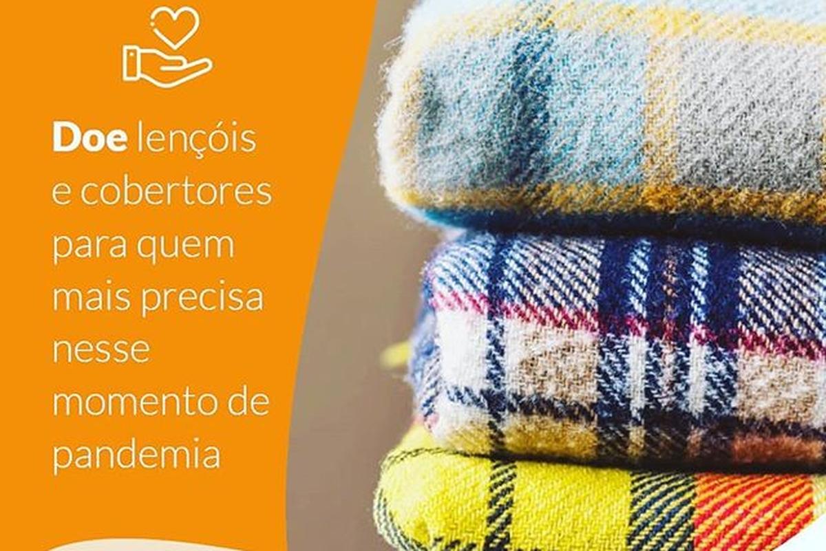 Doação de lencóis e cobertores!