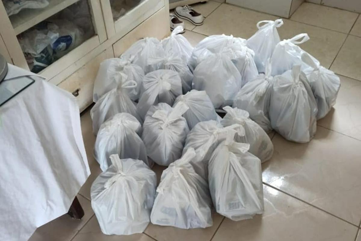 Entrega da 2a campanha de arrecadação de kits de higiene
