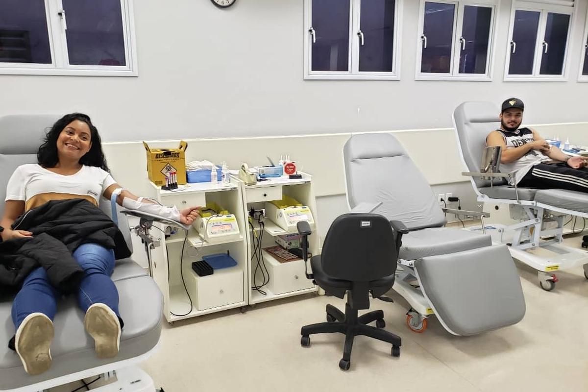 Doação de Sangue 2019 - Ana Andrade