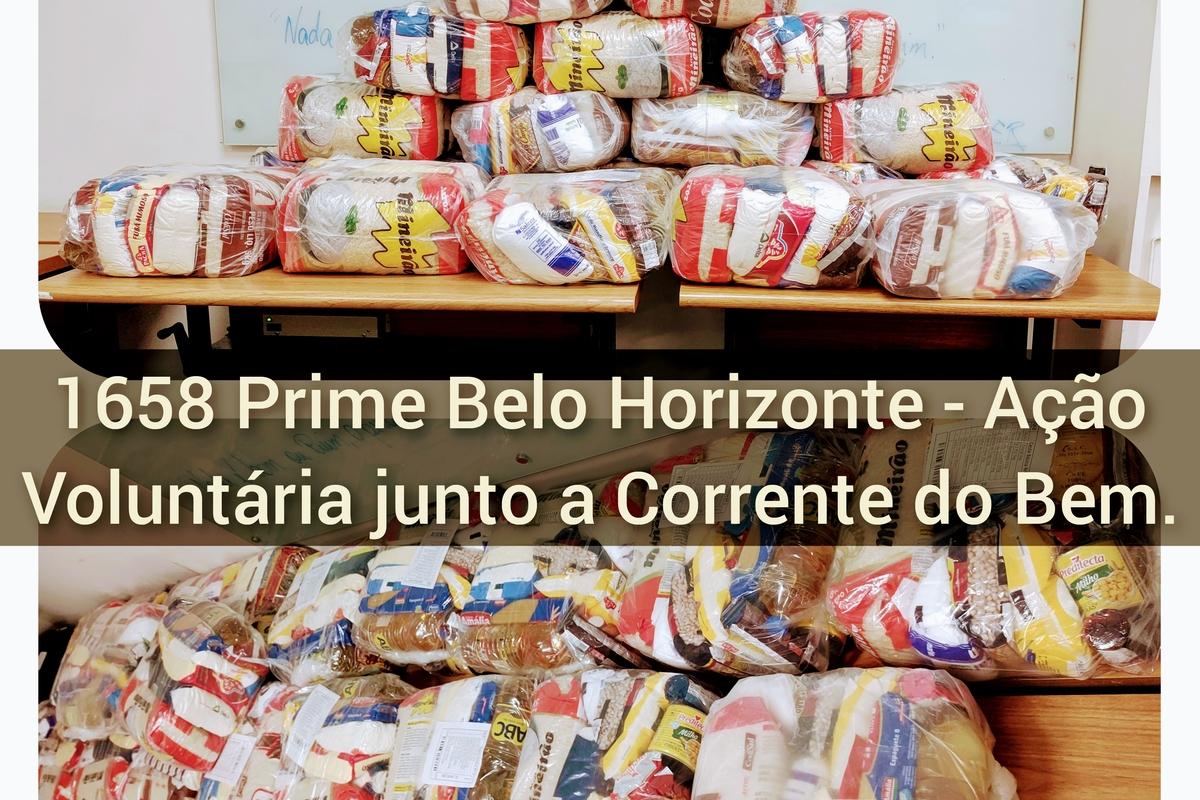 Ação Voluntária Junto a Corrente do Bem - 1658 Prime Belo Horizonte - 2021