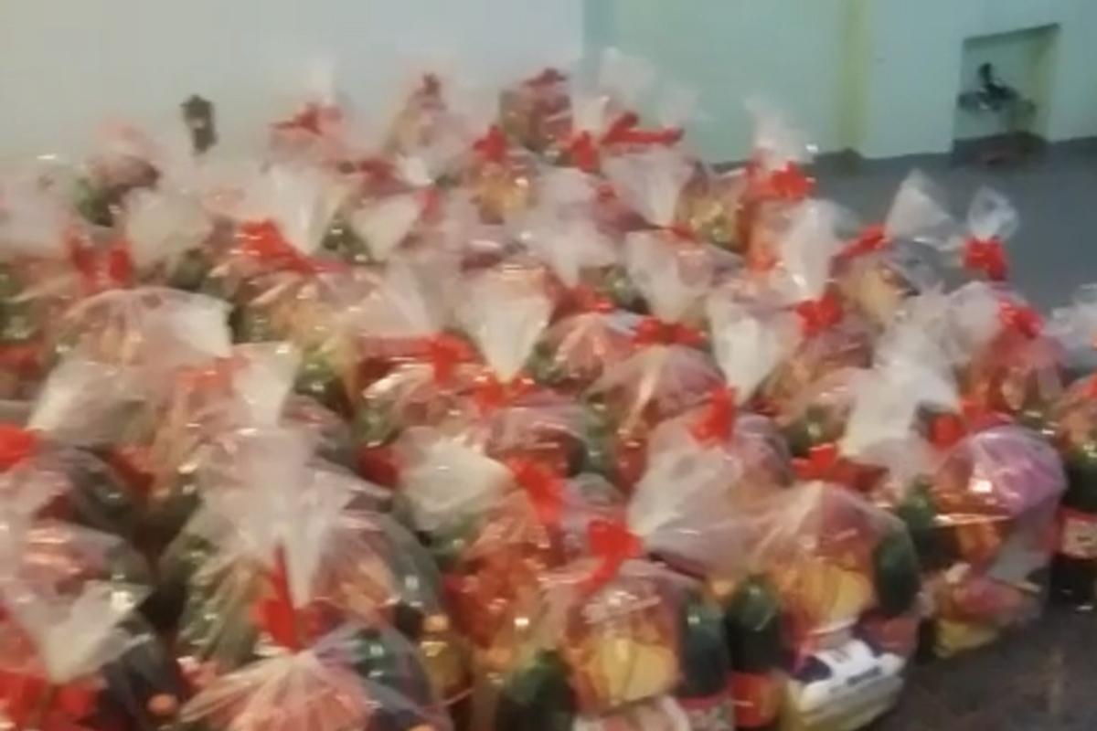 Campanha de Natal - Macarrão para cestas básicas