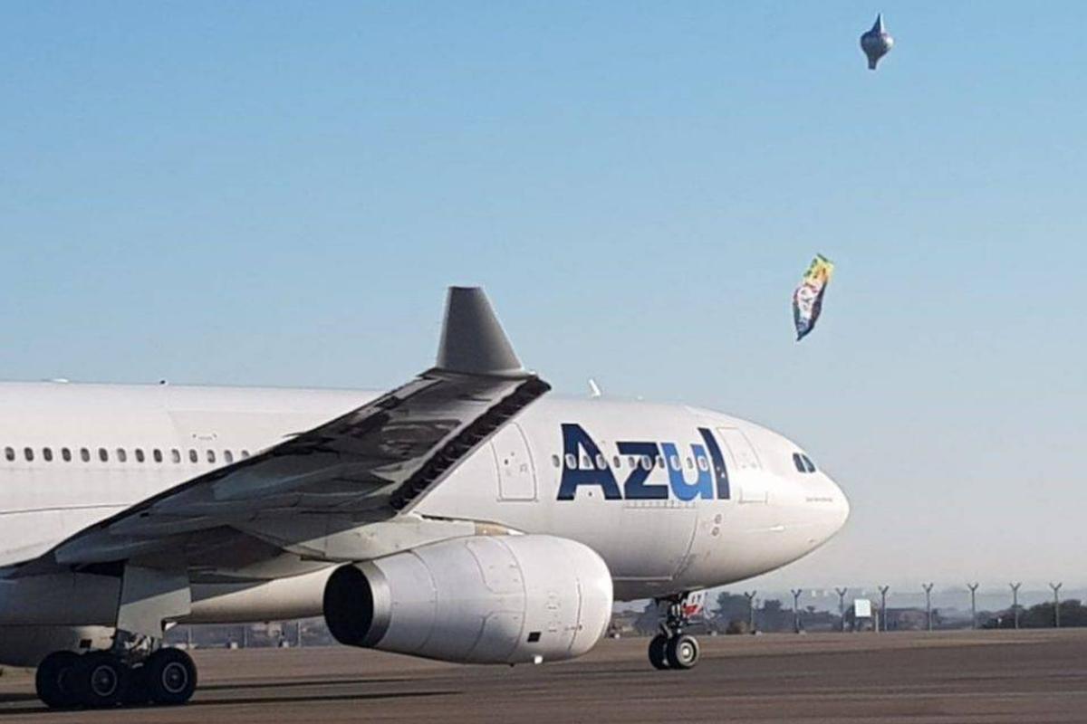 Segurança no aeroporto Pipas e Balões Não!!!
