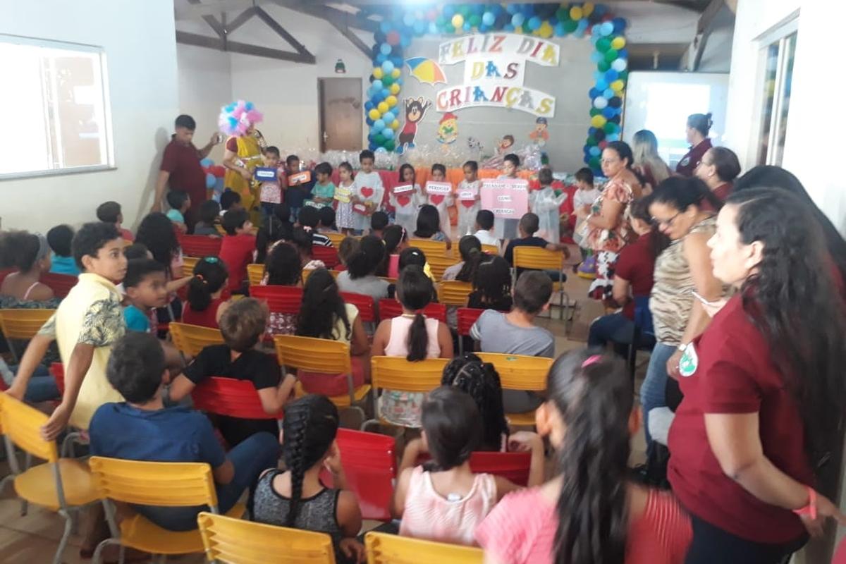 Viva a Criança da Escola Municipal Juscelino Kubitschek