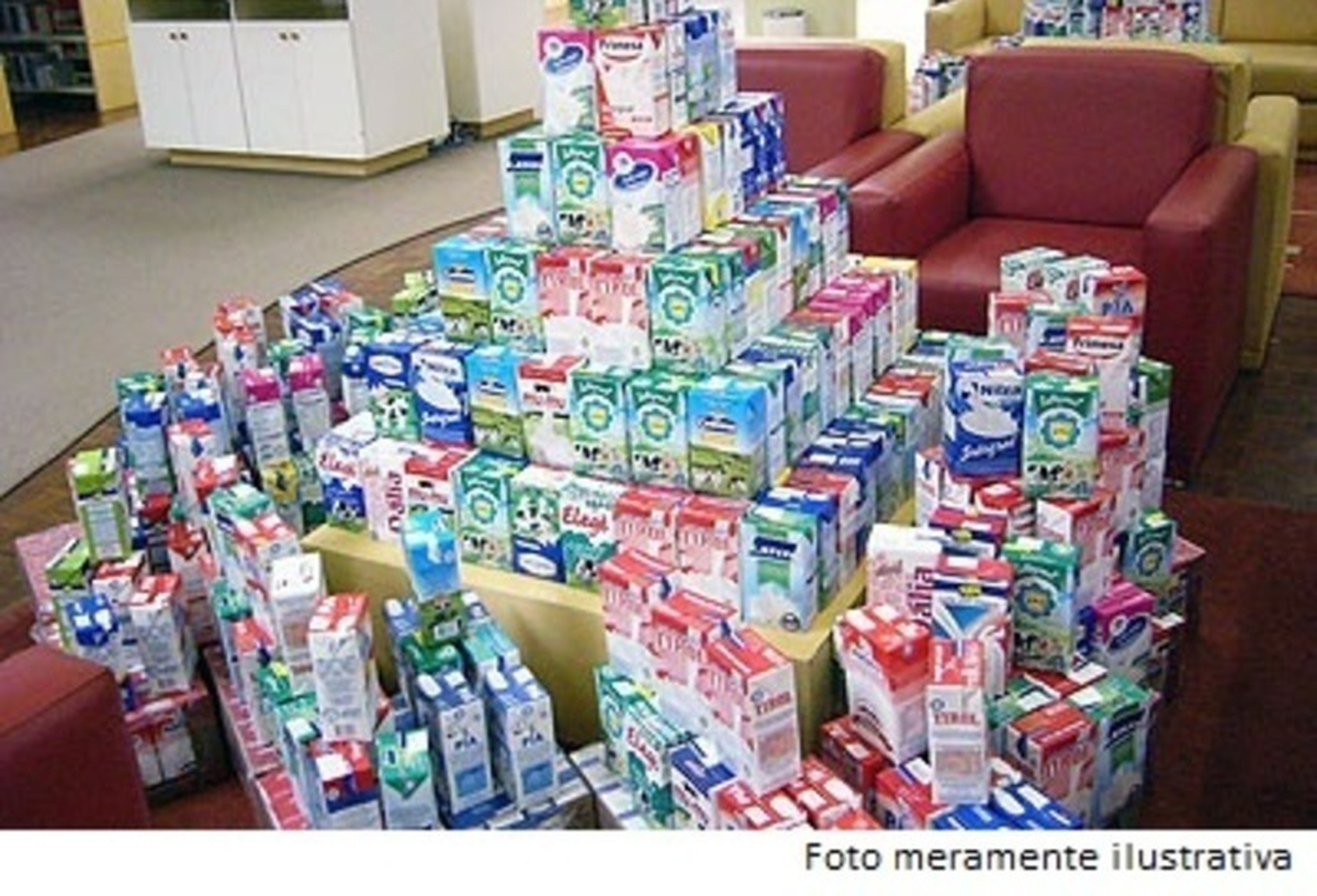 Doação de leite - 1º semestre de 2019