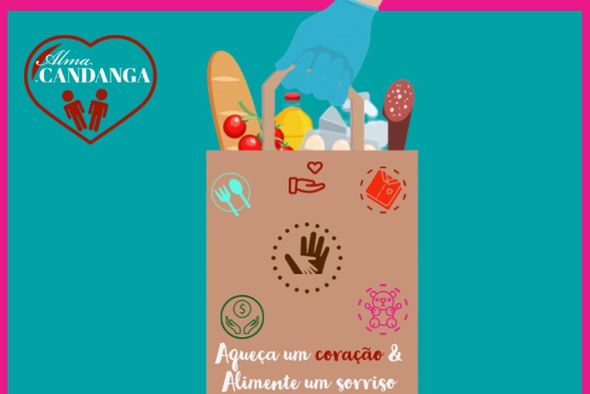 Doações aos moradores sem teto de Brasília