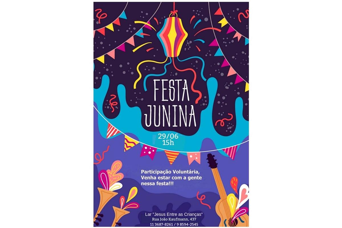 Participação Voluntária - Festa Junina no Lar Jesus