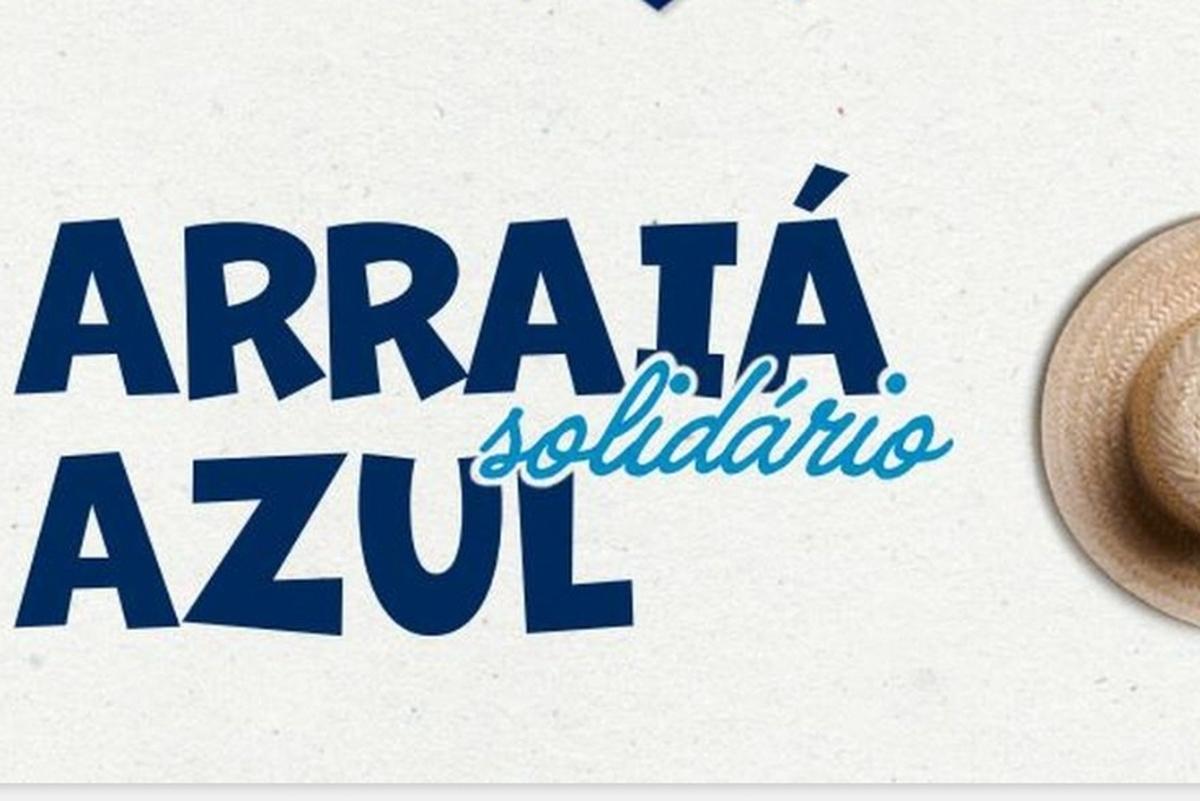 Arraia Solidário Azul