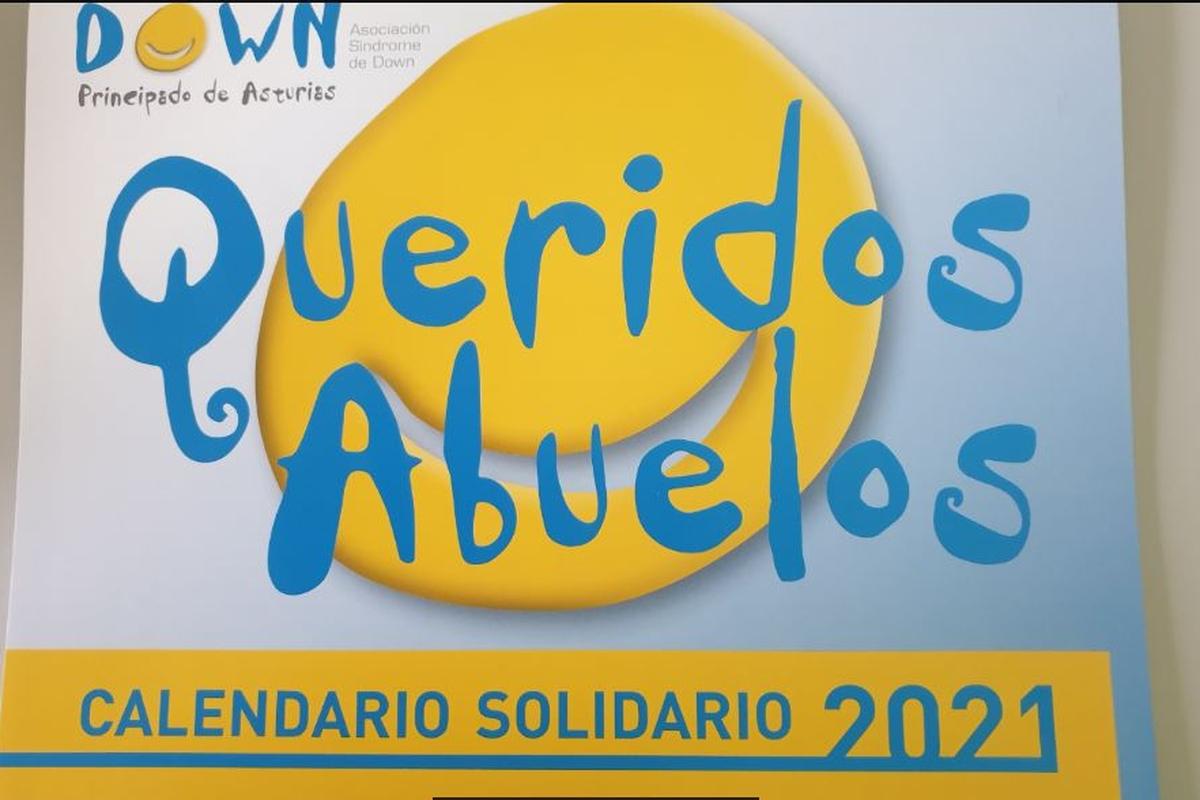 Calendario Asociación Síndrome de  Down Asturias (5€)