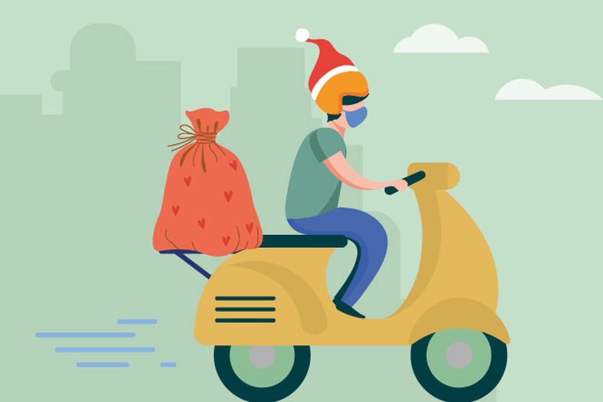 Sacolinhas de Natal- Coliseu- SP