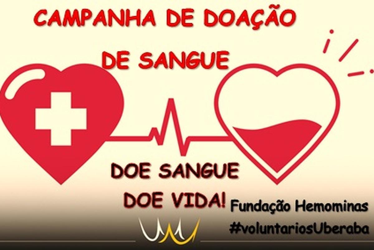 Campanha de Doação de Sangue Uberaba