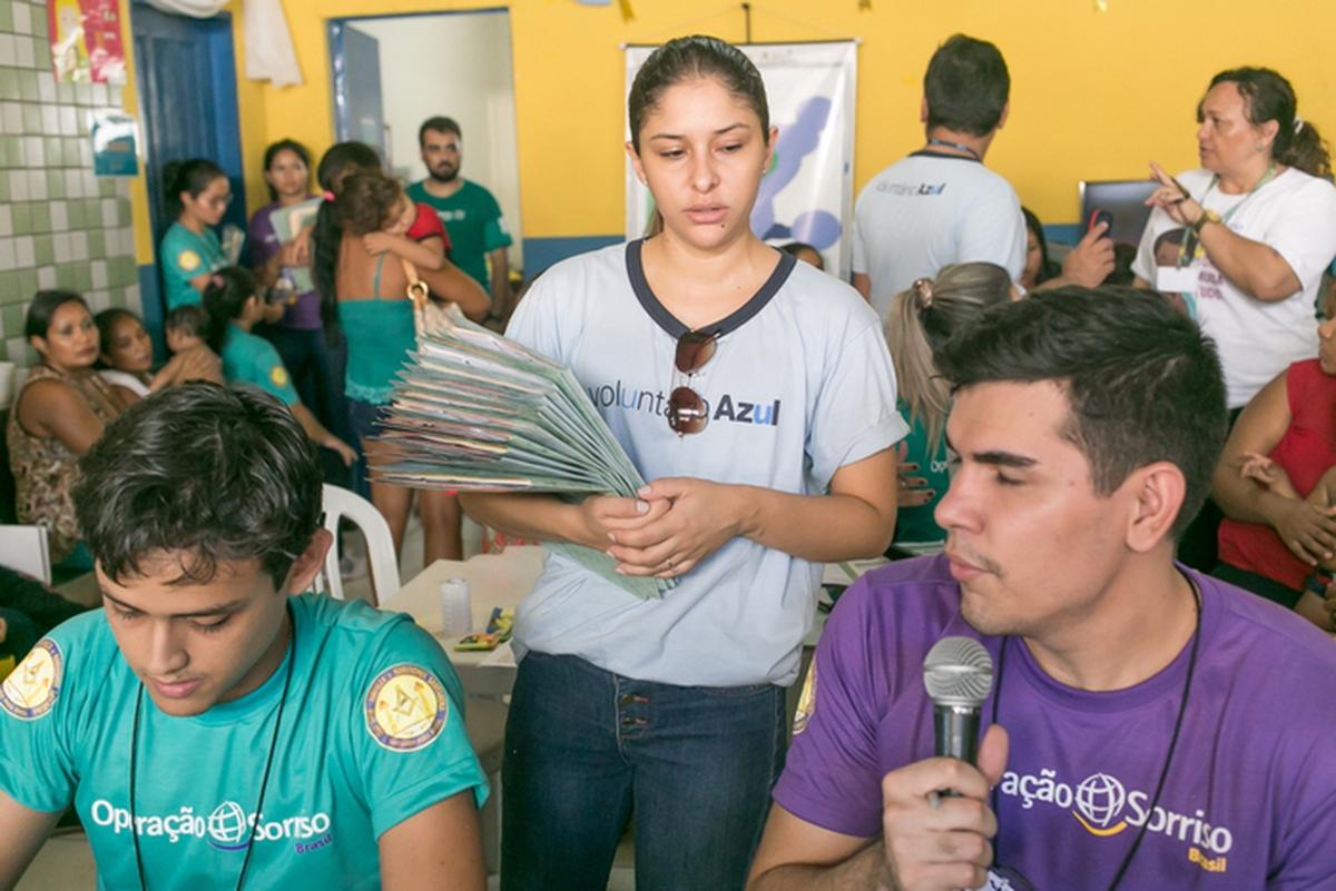 Missão da Operação Sorriso em Fortaleza/CE