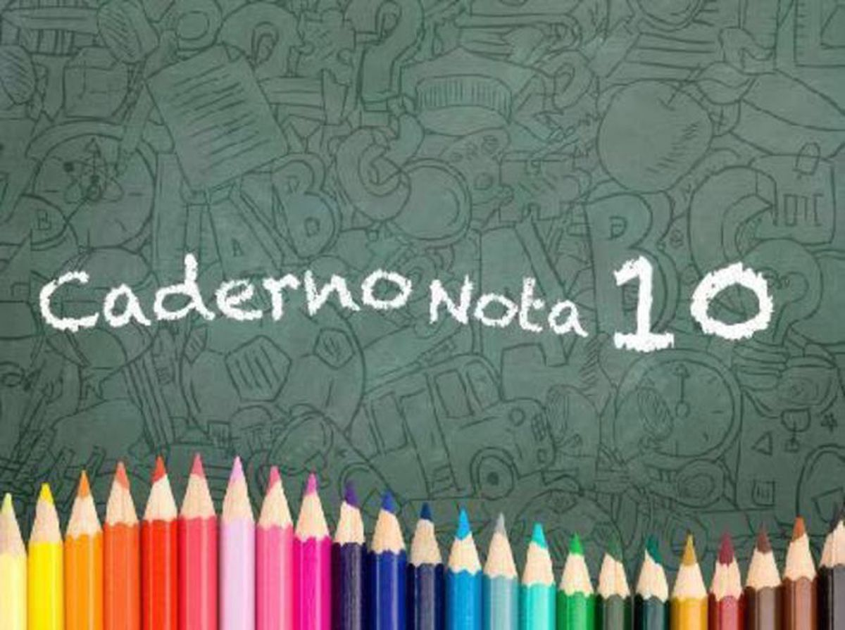 Caderno Nota 10 .