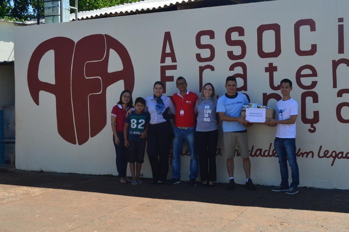 Arrecadação de materiais escolares em Foz do Iguaçu