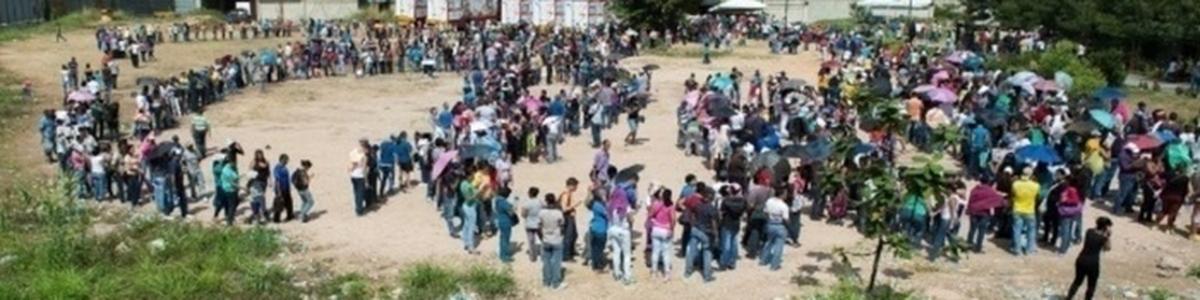 Arrecadação de mantimentos aos Refugiados Venezuelanos -Base VDC-