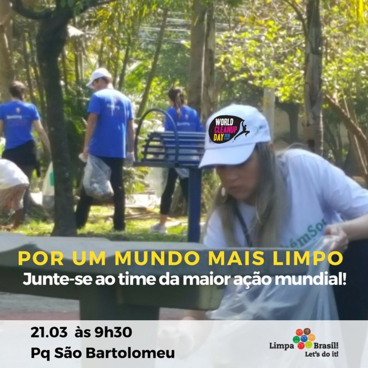 World Clean Up Day - Limpa Brasil - Salvador (21/03)