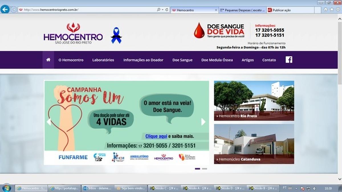3499-Emp.São José do Rio Preto/SP - Doação de Sangue e Cadastro Doador Medula Óssea