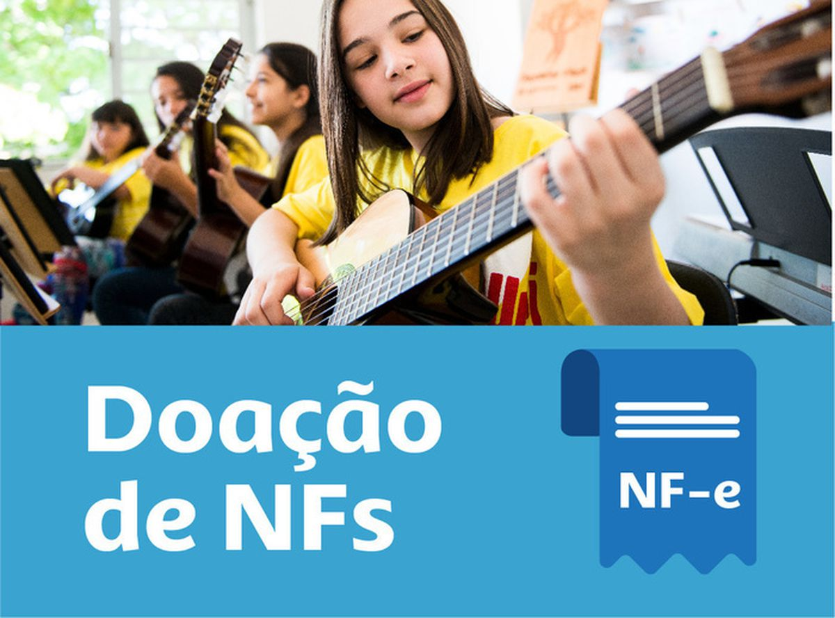 Doe sua Nota Fiscal | Donate your invoice
