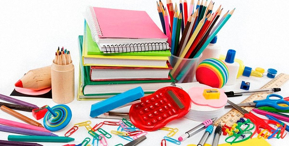 Arrecadação de material escolar/ base TFF