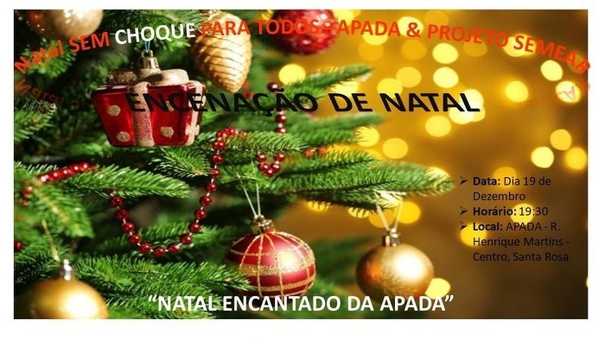 Natal sem Choque para todos  APADA & Programa Semear