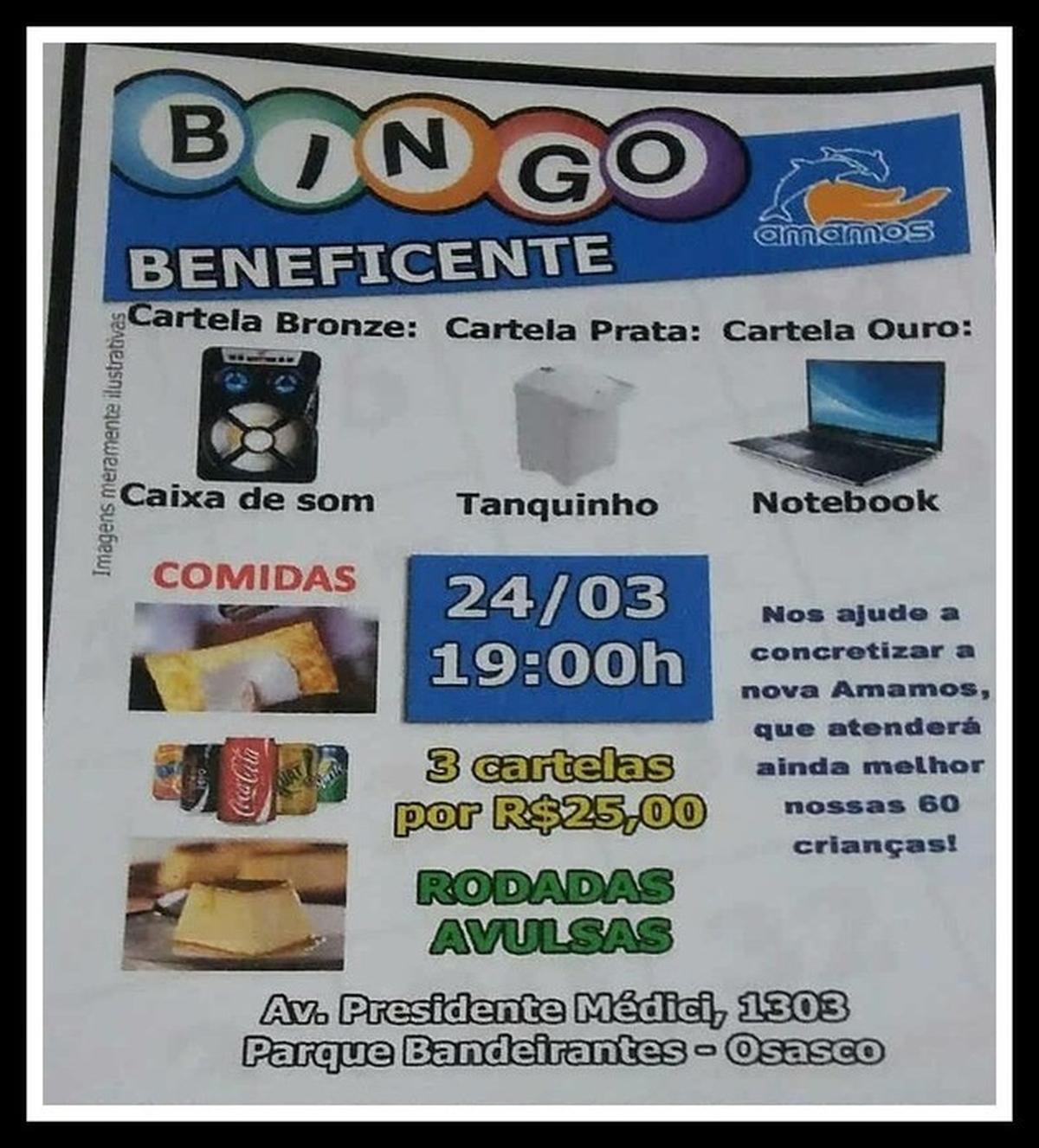 Amamos Bingo =) 24/03/2018