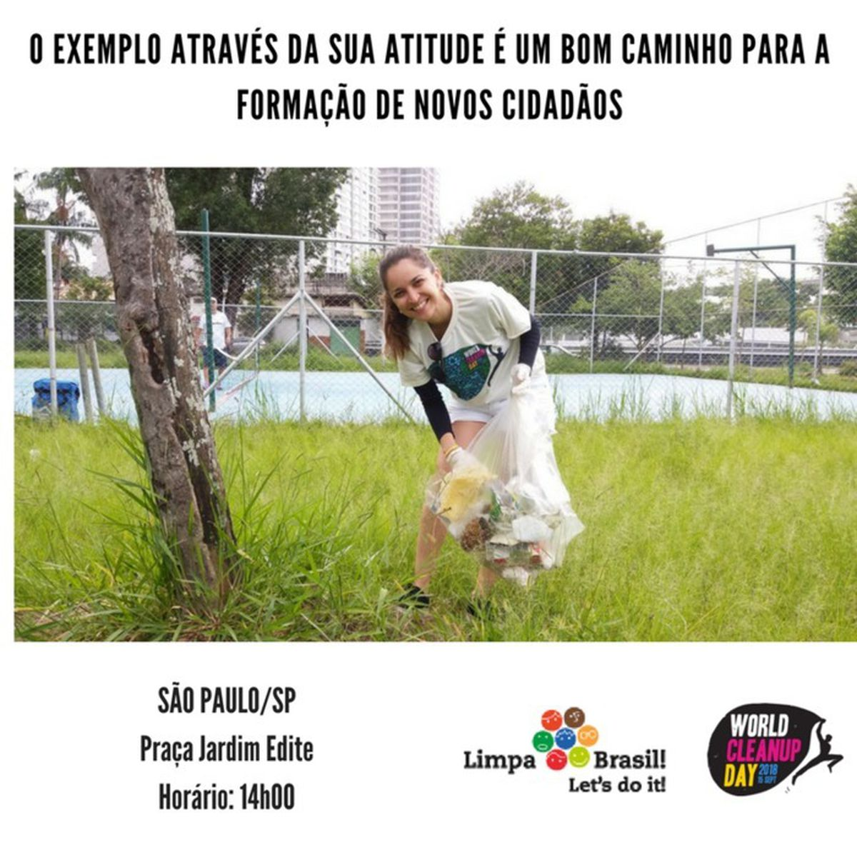 World Clean Up Day - Limpa Brasil - São Paulo (24/03)