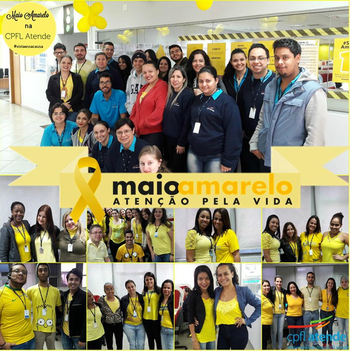 CPFL Atende Araraquara no Movimento Maio Amarelo