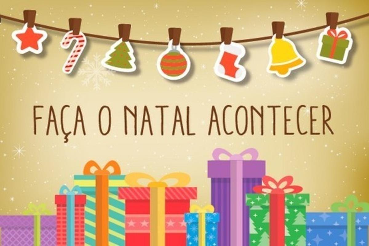Campanha de Natal para as crianças do Oziel