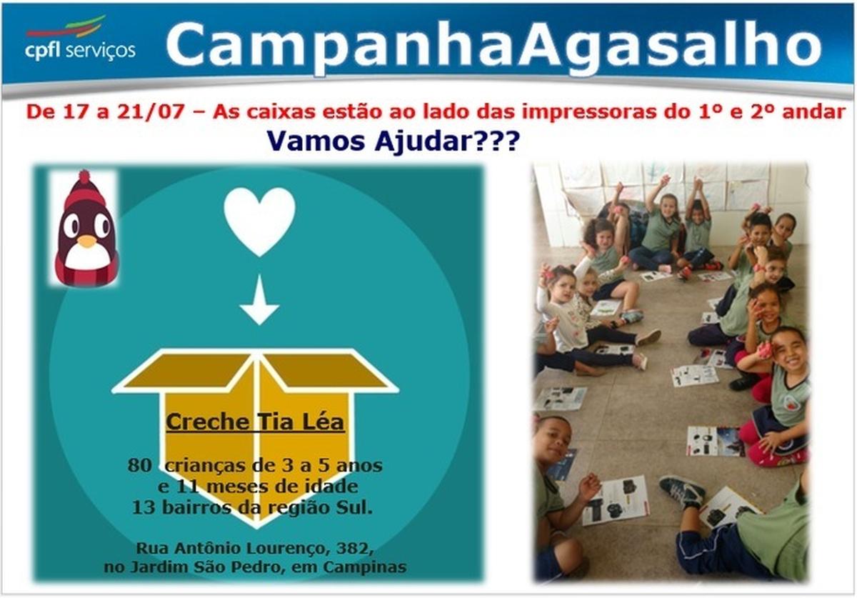 CPFL Serviços - Arrecadação de Roupas - Creche Tia Léa Campinas