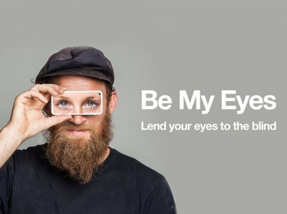 Be my eyes - Voluntariado pelo Smartphone