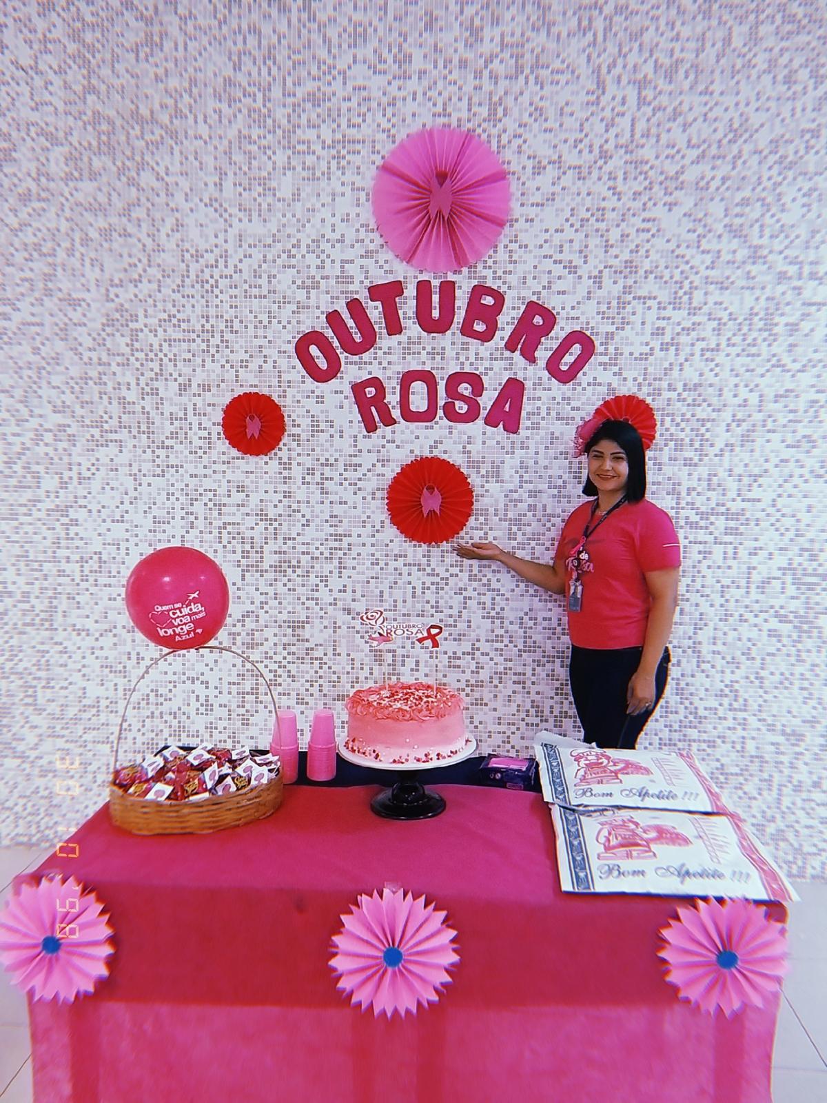 Outubro Rosa base TFF e INFRAERO