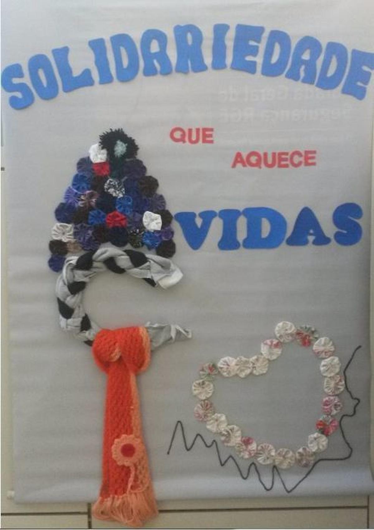Solidariedade que Aquece Vidas - ACPM e Escola Pedro Flores