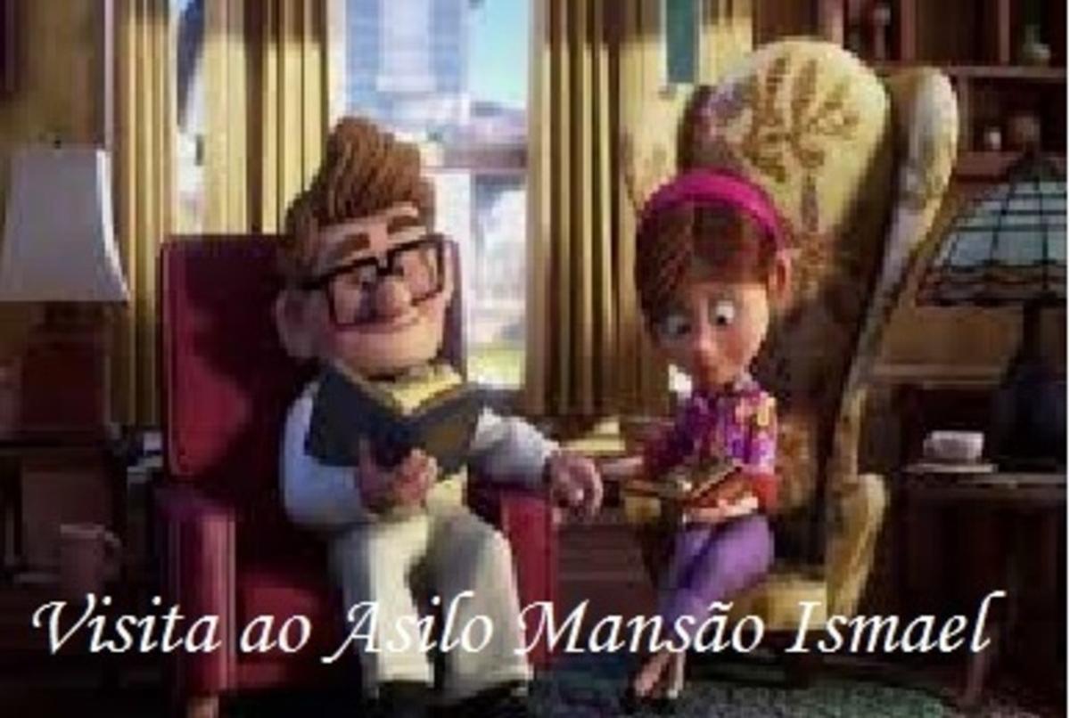 """""""Visita ao Asilo Mansão Ismael em Marília """""""