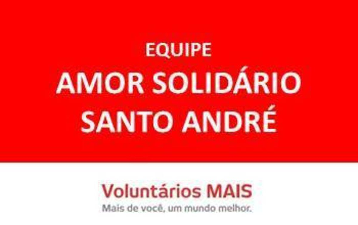 Amor  Solidario Sto Andre 2016