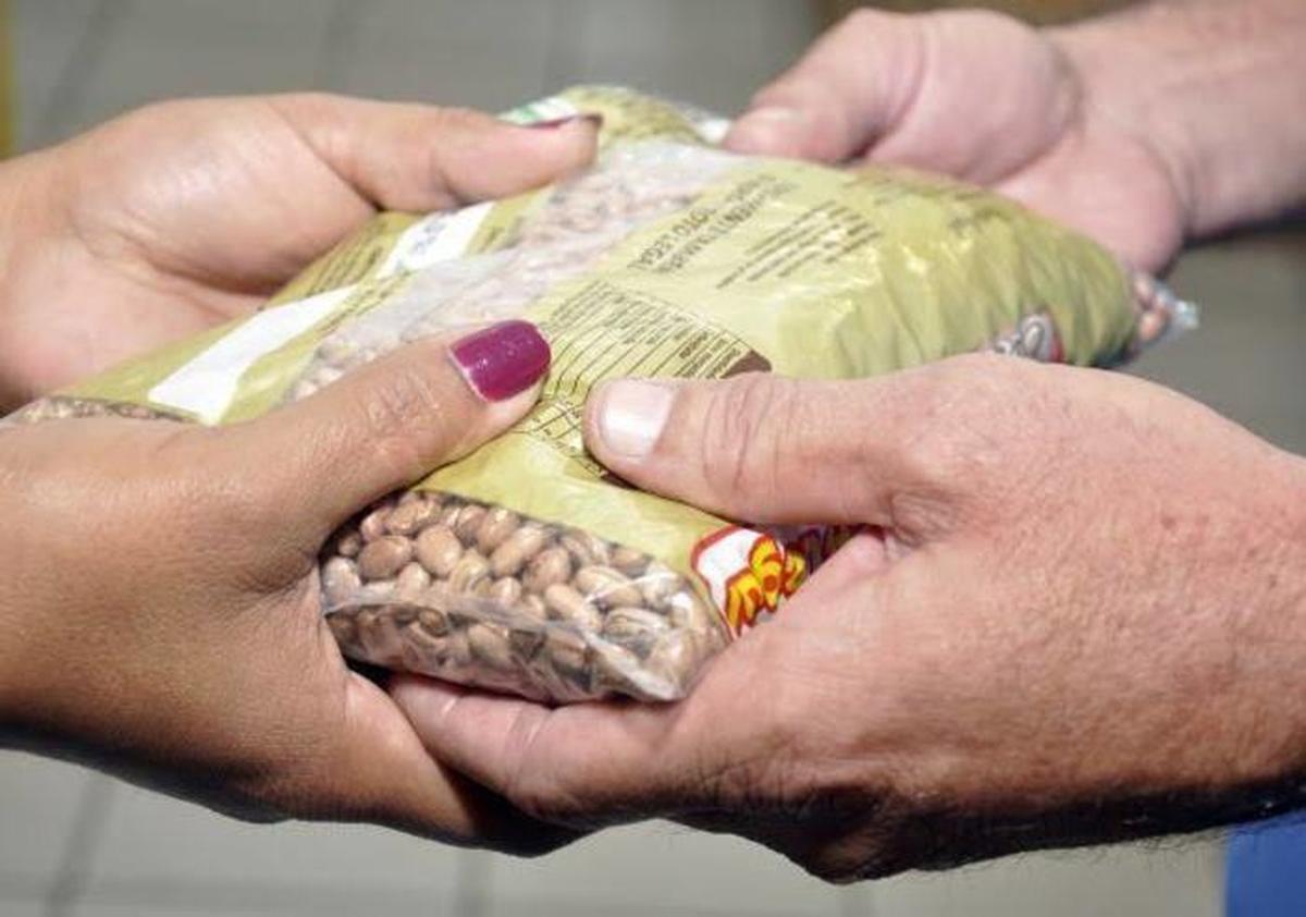Banco de Alimentos Lar dos Velhinhos Arrecadação em AAX