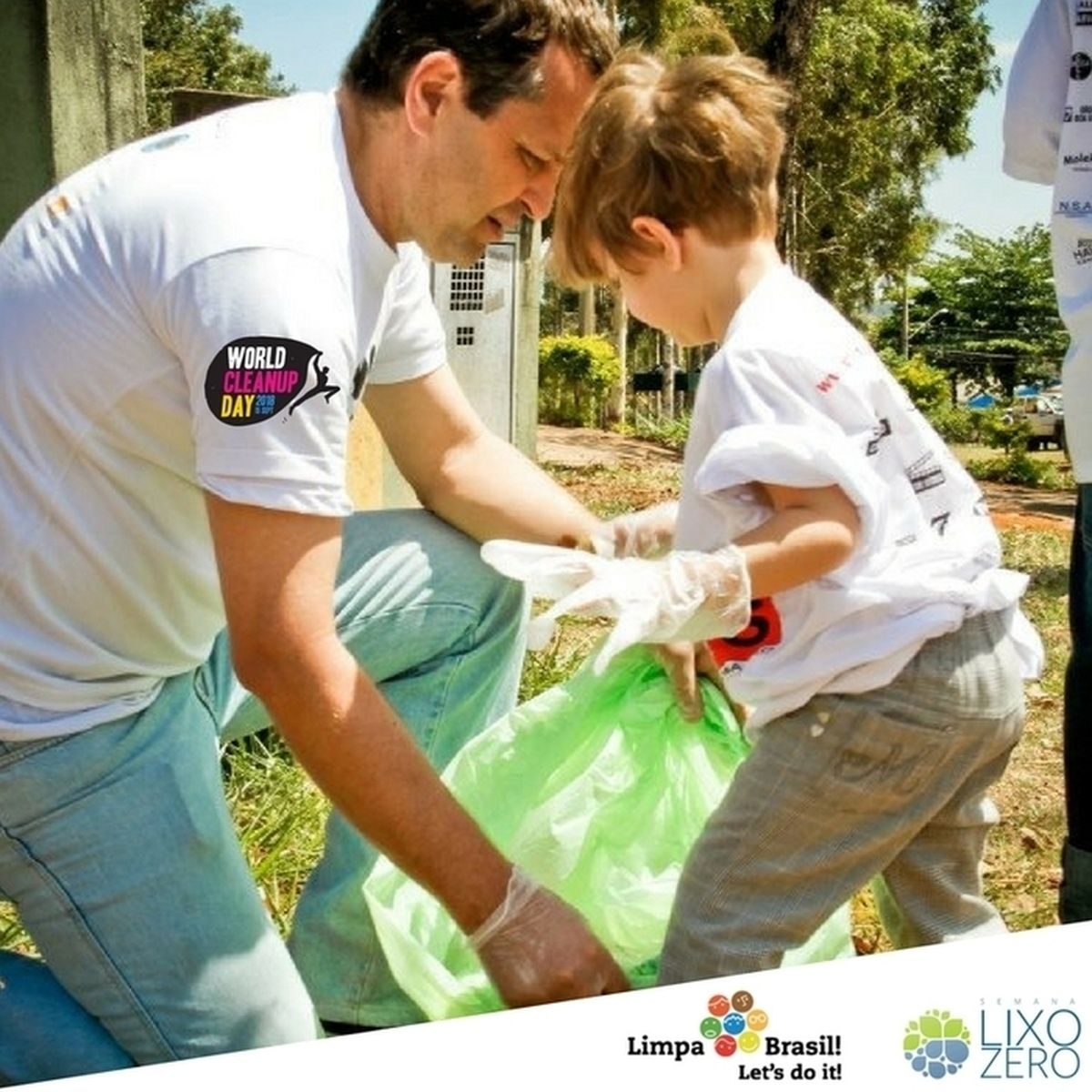 Clean Up Day World, na Semana Lixo Zero! Sorocaba