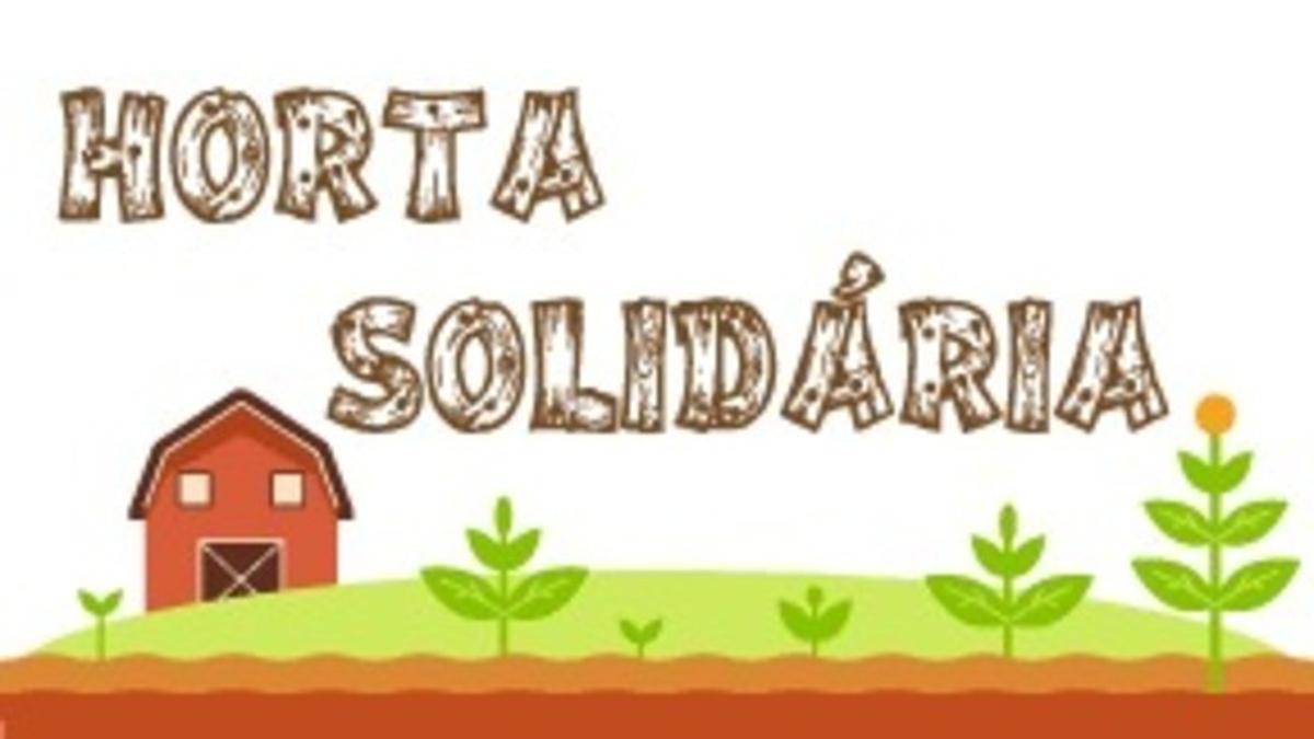 Horta solidária