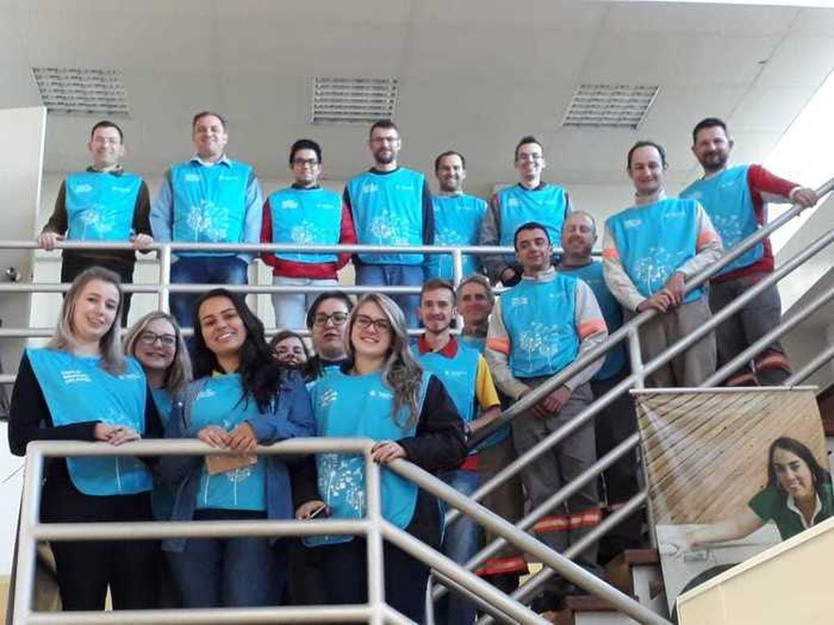 1ª Capacitação Semear 2018 - Alinhamento Equipe Voluntários RGE Santa Rosa