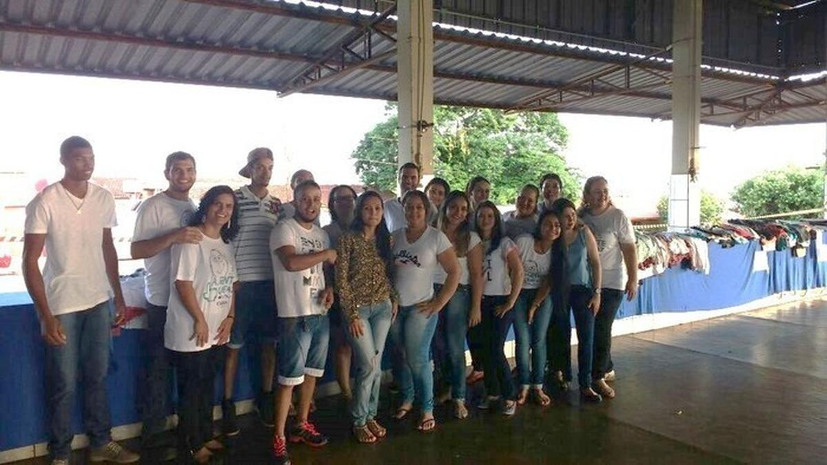 E teve mais Bazar do Bem em Goiás!