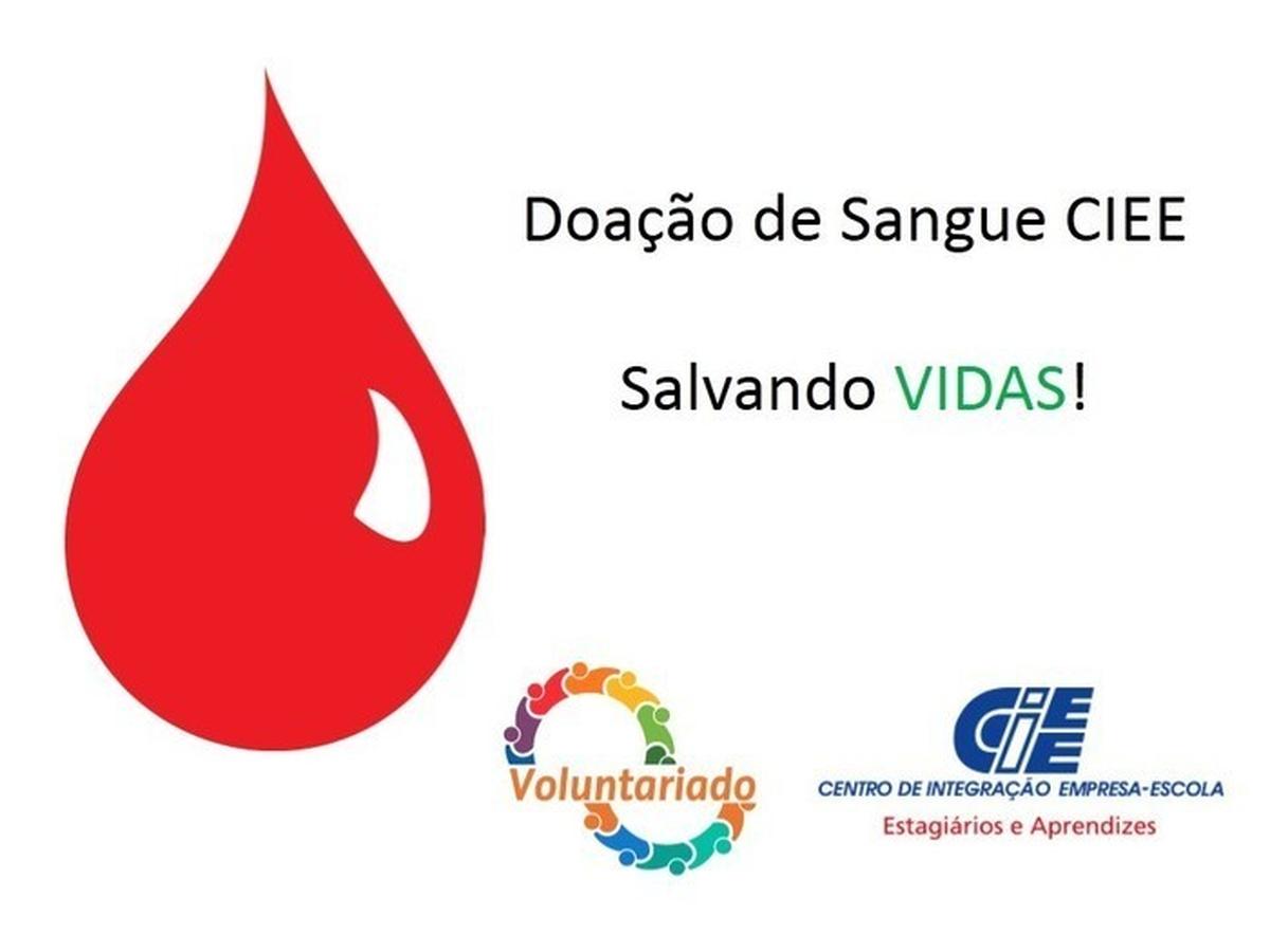 Doadores de Sangue CIEE