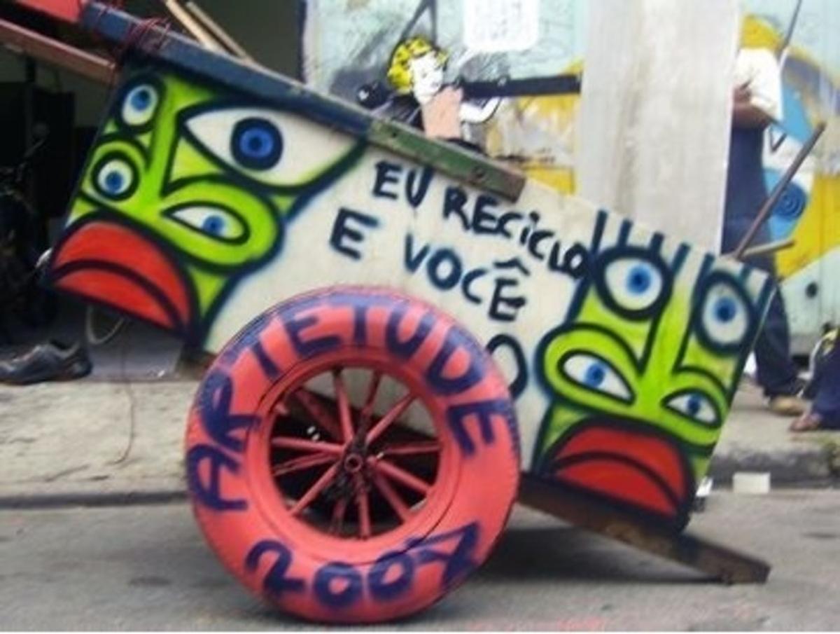 Formar catadores de lixo reciclável!