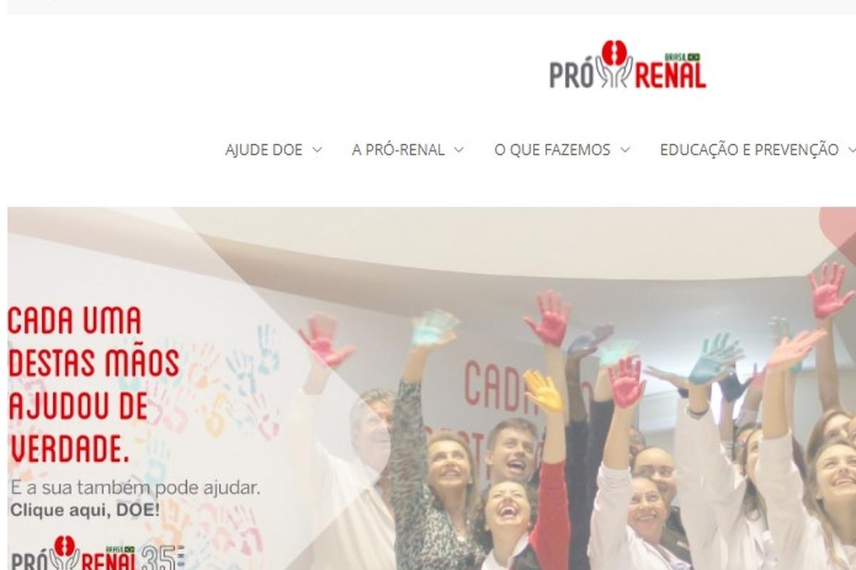 Doação Alimentos - Fundação Pró Renal - Curitiba - 2021